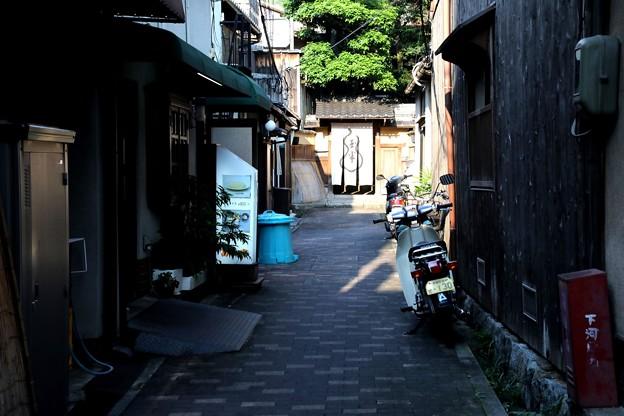 京都東山の路地