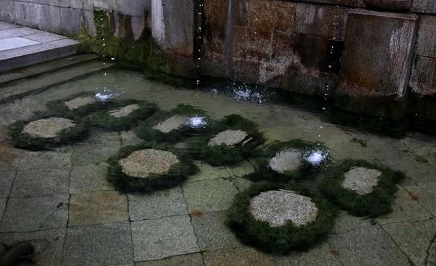 音羽の滝壺風景