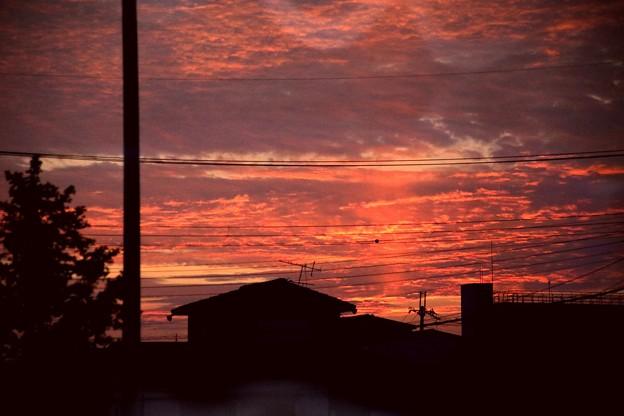 京都の夕焼け(20190729)