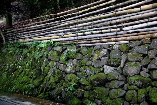 銀閣寺の石垣