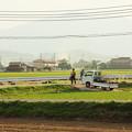 写真: 軽トラのある風景