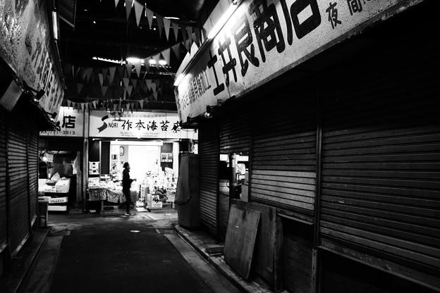 福岡3-柳橋連合市場(シャッター)