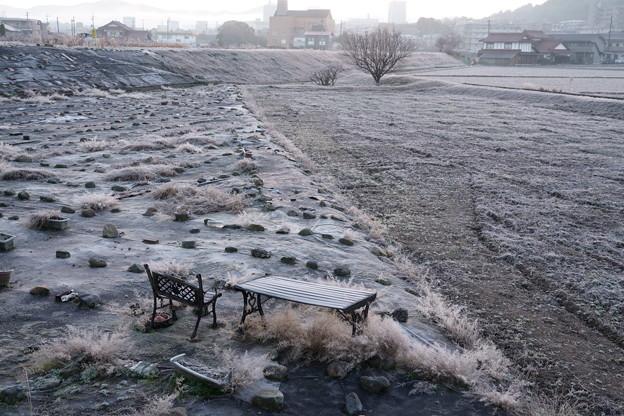 無名画家の椅子(冬)