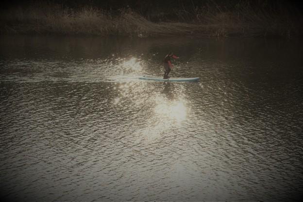Photos: 水上を行く