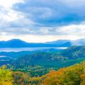田沢湖全景
