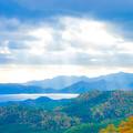 エンジェルラダーの湖