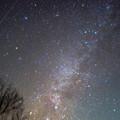 写真: 冬の銀河