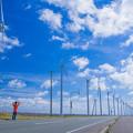 写真: オトンルイ風力発電所