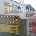 写真: 北限の駅