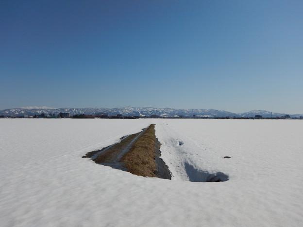 大雪が終わる