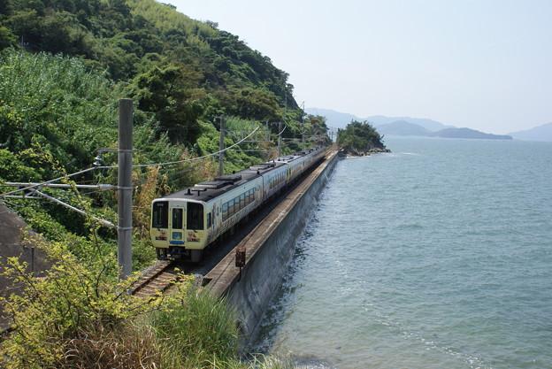 瀬戸内海と鉄道