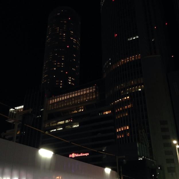 Photos: 夜のJRセントラルタワーズ