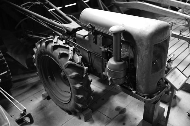 古いトラクター1