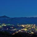 Photos: 美の山公園から望む秩父の街と武甲山