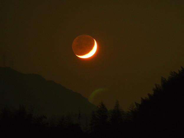 月の入り(10月17日)