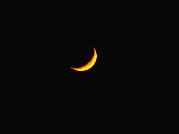 月齢4.1の月(10月17日)