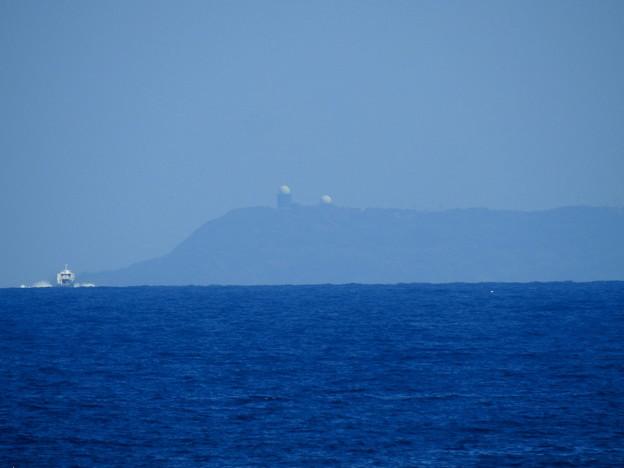 萩市見島のレーダー