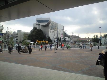 大岡山駅前広場 全景
