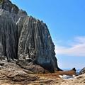 14そそり立つ岩