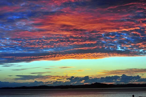写真: 06 染まる高積雲