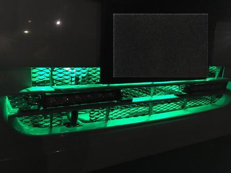 緑LEDを入れてみた