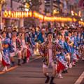 写真: 夜のハイヤ総踊り