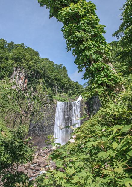 写真: 賀老の滝