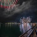 写真: 湯の児の花火