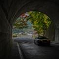 写真: トンネルから