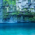 写真: 雄川の滝