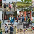 Photos: 九州国際スリーデーマーチ2日目collage