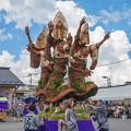 Photos: 阿波踊りで風刺