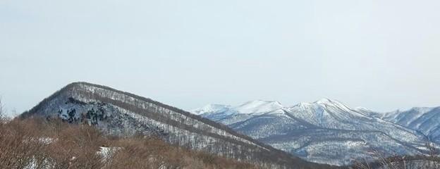 名もない冬山