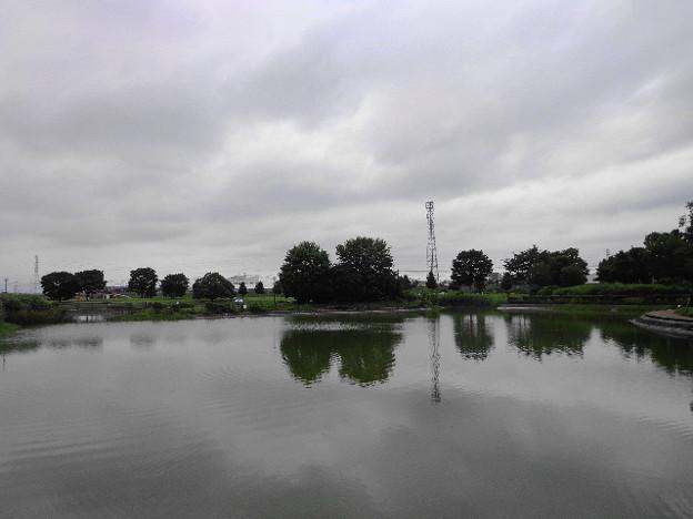 出羽公園曇り空
