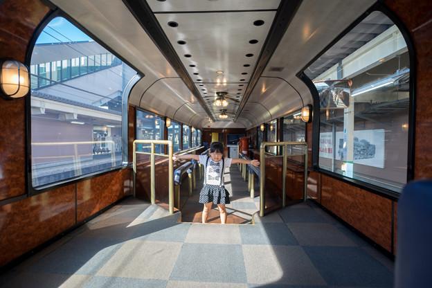 SLの客車内