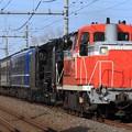 Photos: 配9127レ DE10 1752+D51 498+オヤ12-1+旧型客車 6両