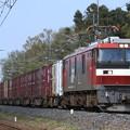 7066レ EH500 6+コキ