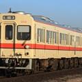 Photos: 1044レ 関東鉄道キハ0形001F 2両