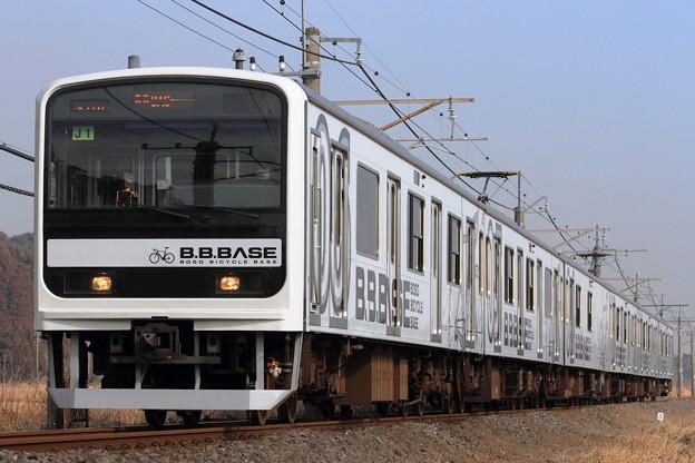 9231M 209系千マリJ1編成『B.B.BASE』 6両