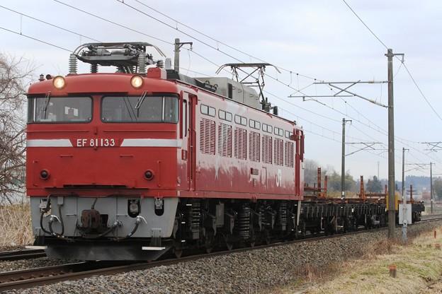 工9158レ EF81 133+チキ