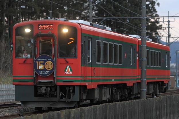 3159レ 会津鉄道AT-752+AT-751