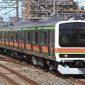 Photos: 試9630M 209系宮ハエ52編成 4両