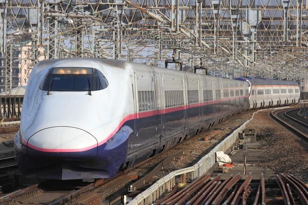 260B E2系仙セシJ63+E3系仙カタL70編成 17両