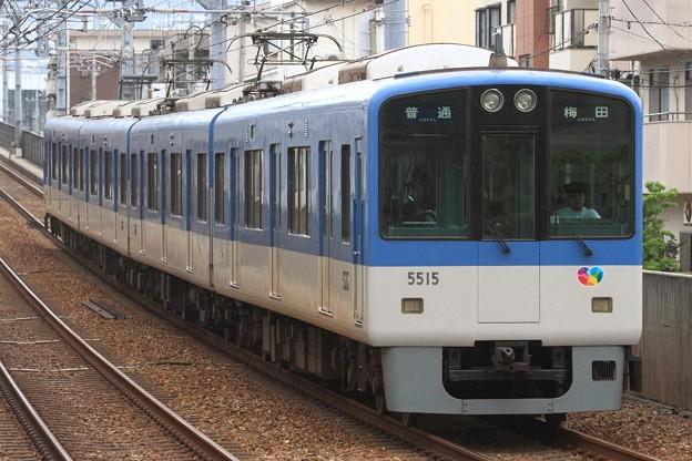 1170レ 阪神5500系5515F 4両