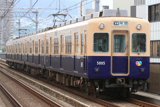 1364レ 阪神5000系5005F 4両