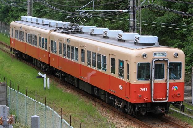 151レ 阪神7861・7961形7968F 2両