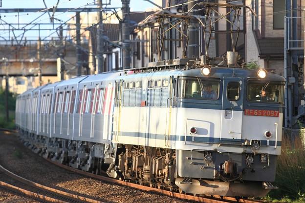 9866レ EF65 2097+都営12-600形12-691F 8両