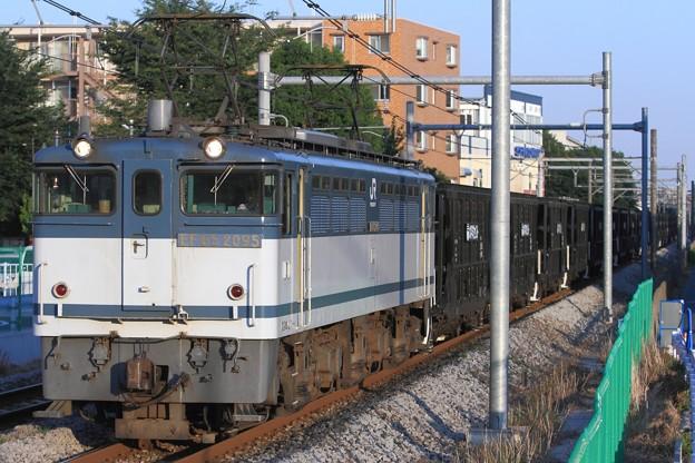 Photos: 5783レ EF65 2095+ホキ