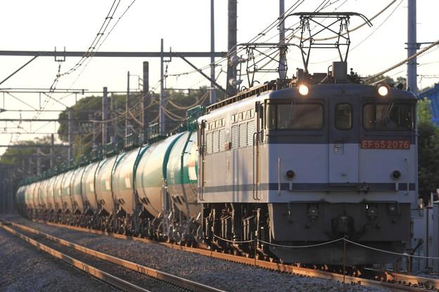 3092レ EF65 2076+タキ
