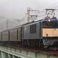 試9760レ EF64 1053+旧型客車 5両+EF65 501